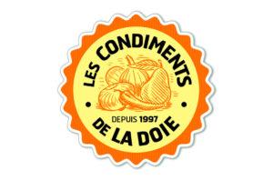 """Logo : """"Les condiments de la Doie"""""""