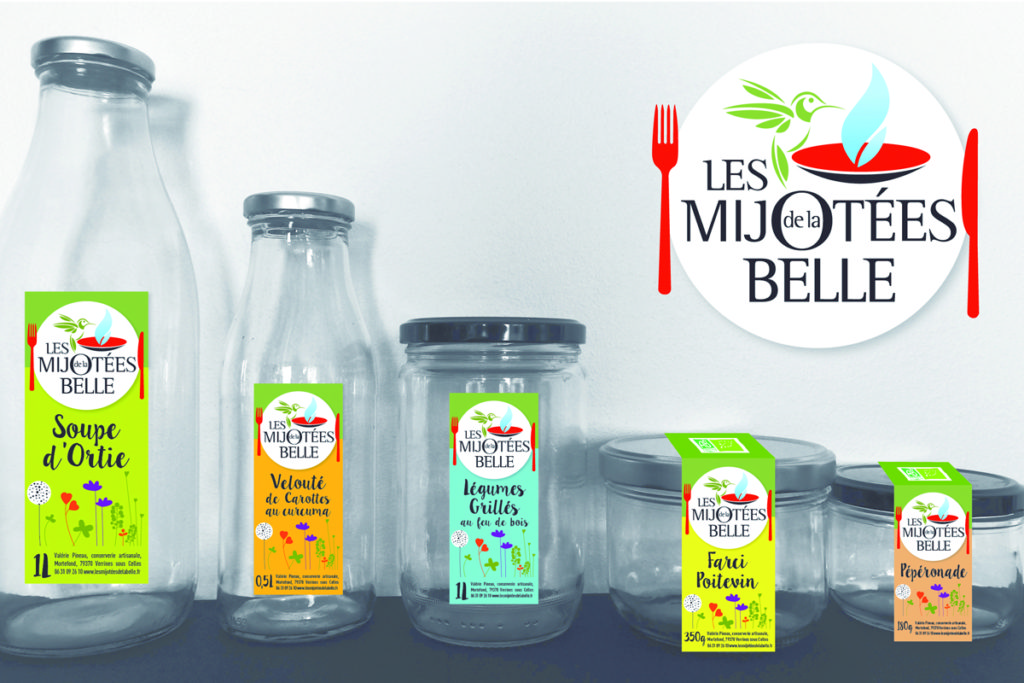 Packaging : «Les Mijotées de la Belle»