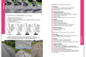 """Mémoire technique """"Eco Patcher"""", société de réparations de routes communales et départementales."""