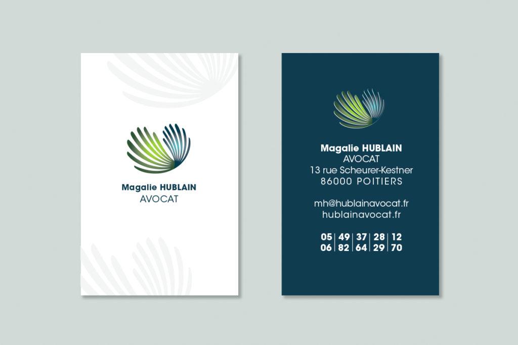 Magalie_Hublain_Avocat_cartes de visite