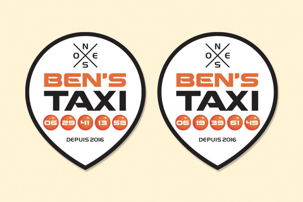 Ben's Taxi_logo