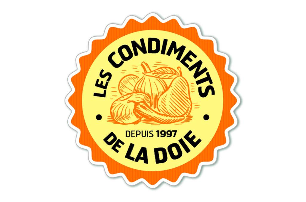 Logo : «Les condiments de la Doie»