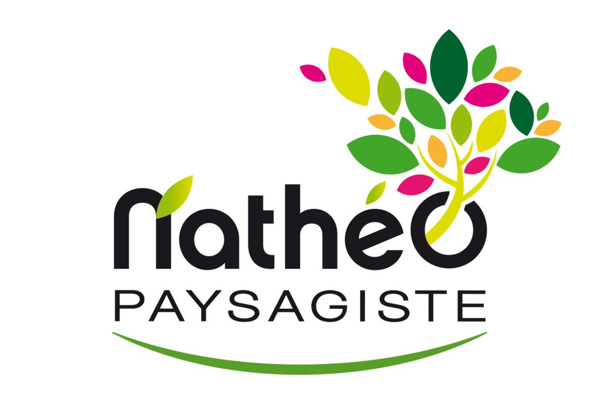 Logo Nathéo paysagiste, entreprise Anthony Allonneau