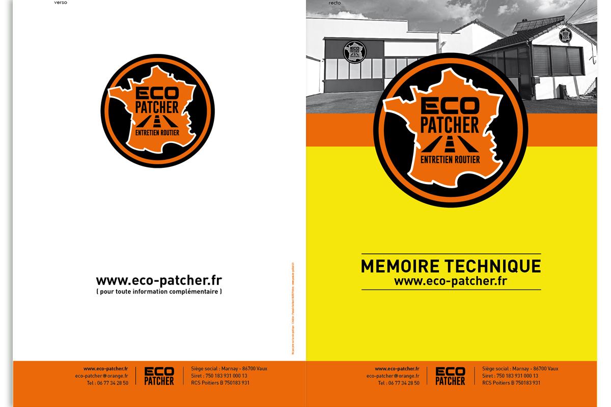 Mémoire technique : société de réparations de routes communales et départementales